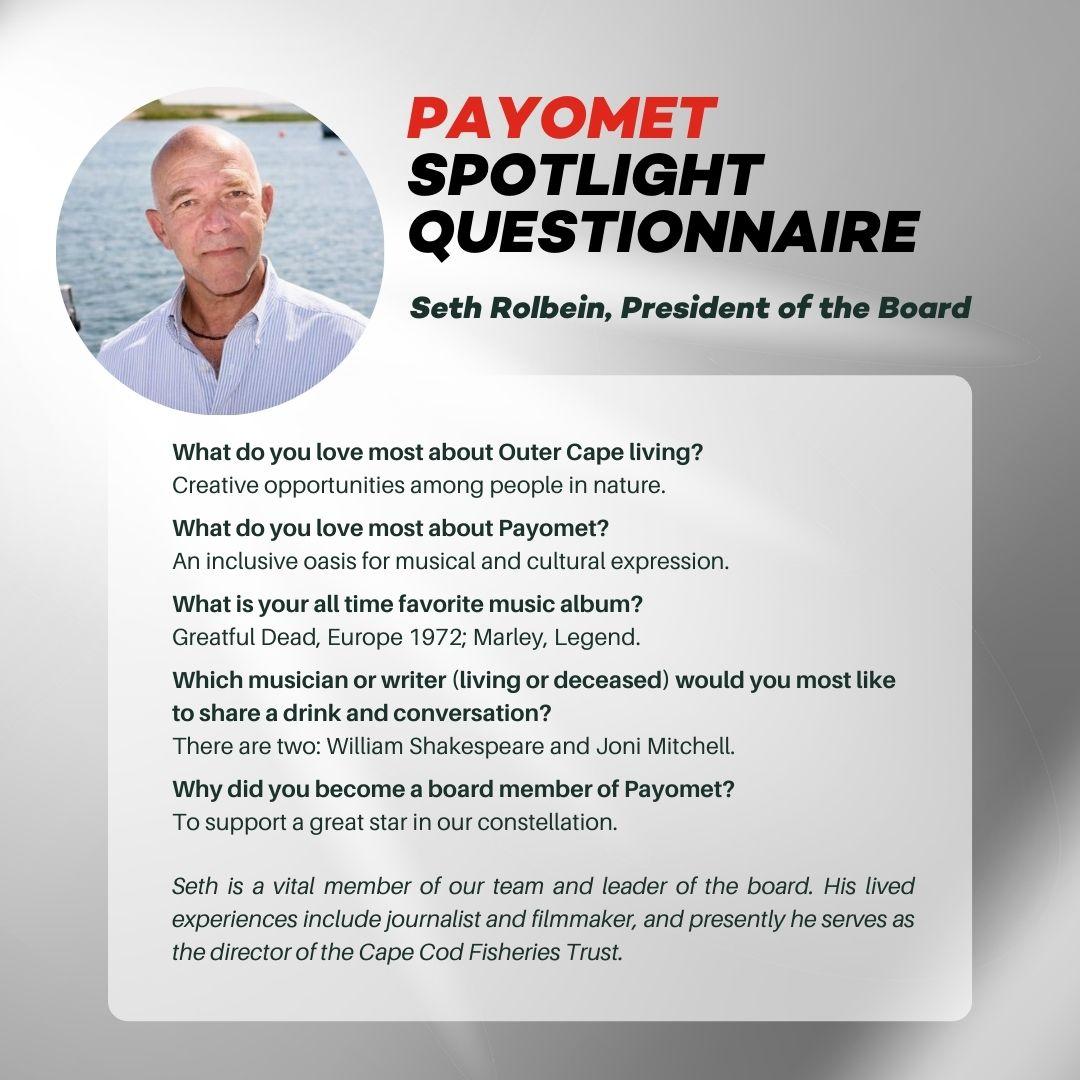 Sett Rolbein in Payomet's Spotlight Questionnaire