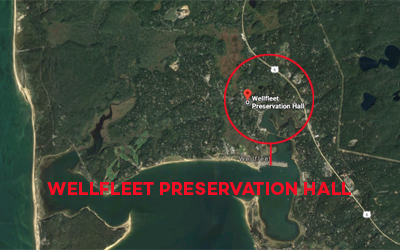 Wellfleet Preservation Hall location map