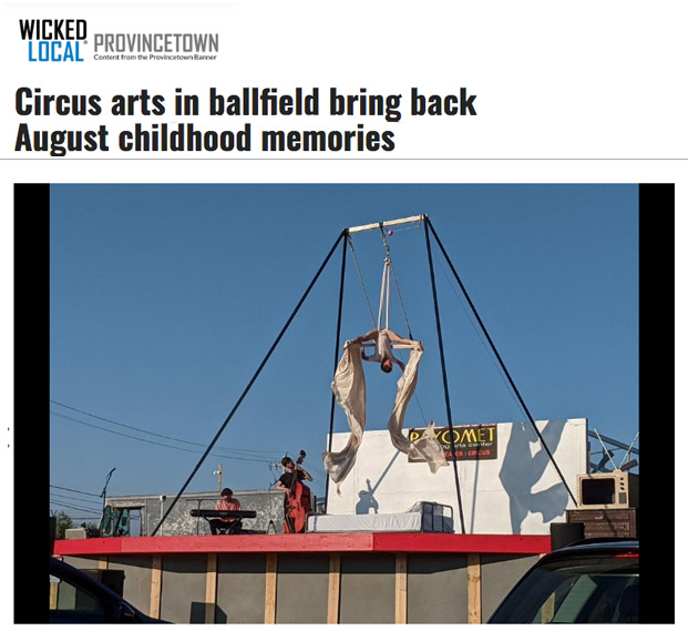 """Wicked Local review of Cirque by the Sea's """"Sandman"""""""