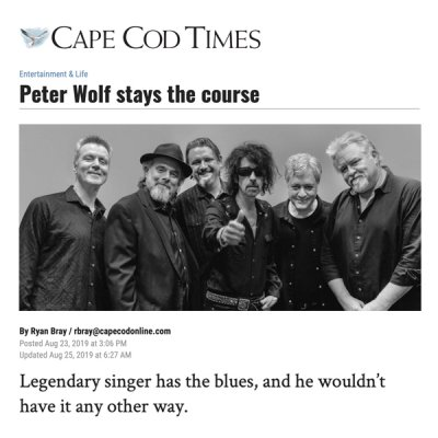Peter Wolf - Cape Cod Times