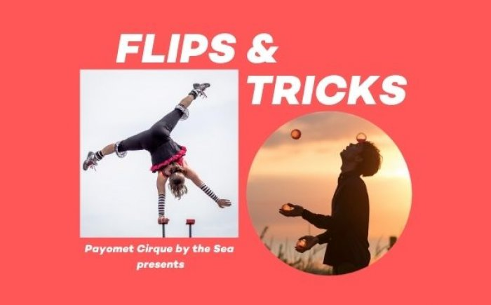Flips & Tricks: Drive-In Live Cirque Showcase at Payomet