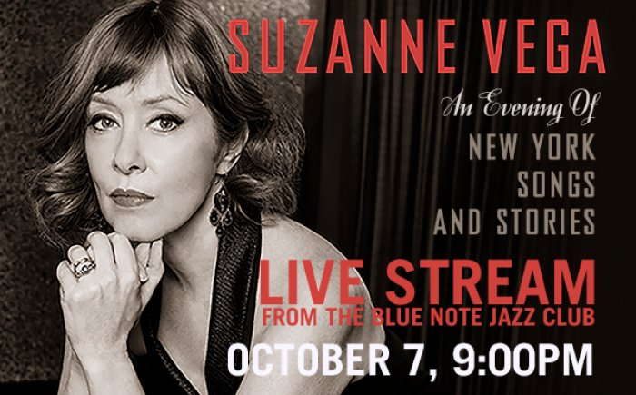 Suzanne Vega Live Stream to support Payomet
