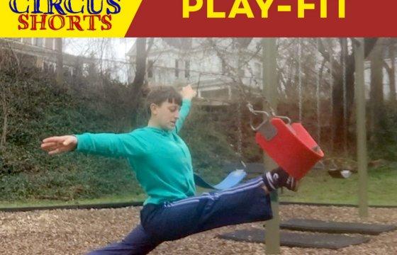 Payomet Circus Shorts: Play-Fit