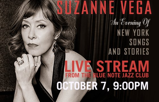 Suzanne Vega Live Stream to benefit Payomet