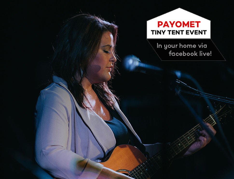 Payomet Live Tiny Tent Event: Catie Flynn