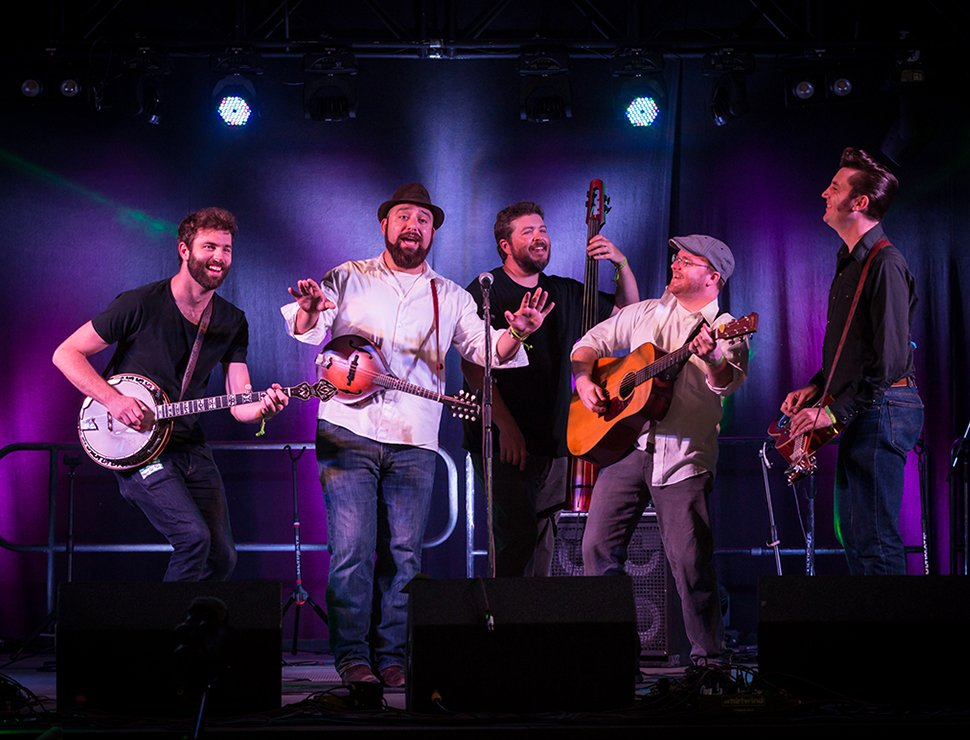 The Hillbenders at Payomet on August 6, 2020